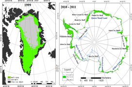 Scatterometer ice sheet freeze-thaw data in Antarctica and Greenland (2015-2019) v1.0