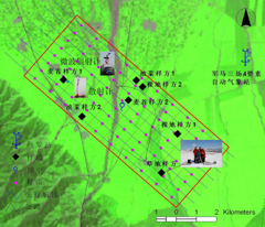 WATER: Dataset of ground truth measurement synchronizing with the airborne microwave radiometers (L&K bands) mission in the Biandukou foci experimental area on Mar. 21, 2008