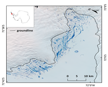 Surface meltwater dataset at 30-m resolutionform Alexander Island in the Antarctic Peninsula (2000-2019)