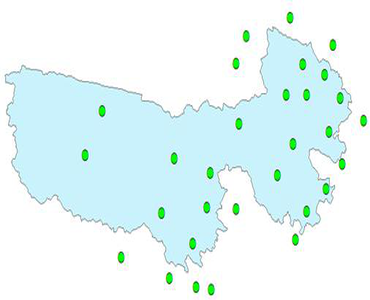 Monthly standard weather station dataset in Sanjiangyuan (1957-2015)